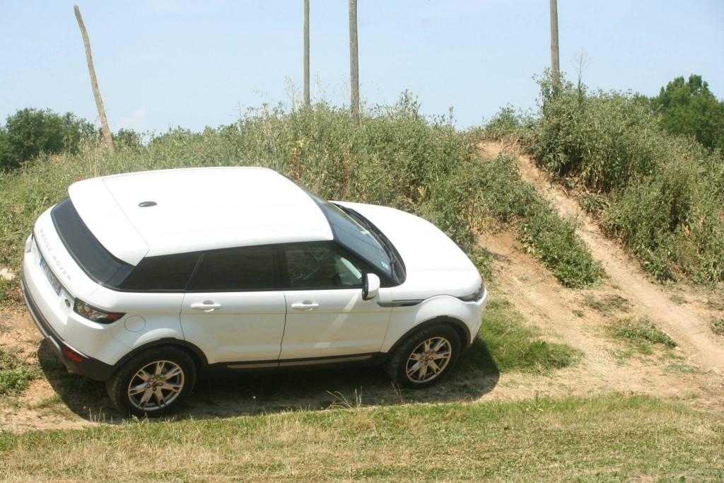 Land Rover Evoque en évolution...