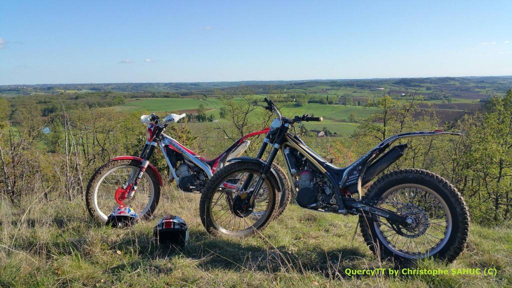 moto trial chez QuercyTT