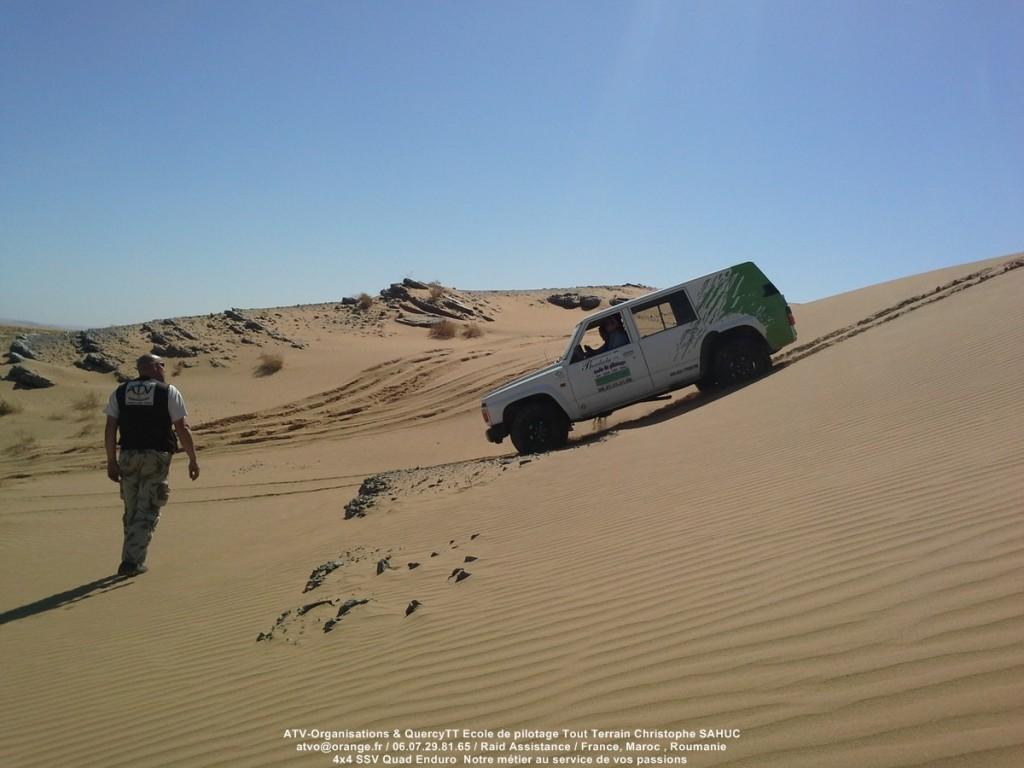 Stage de pilotage 4x4 en location au Maroc