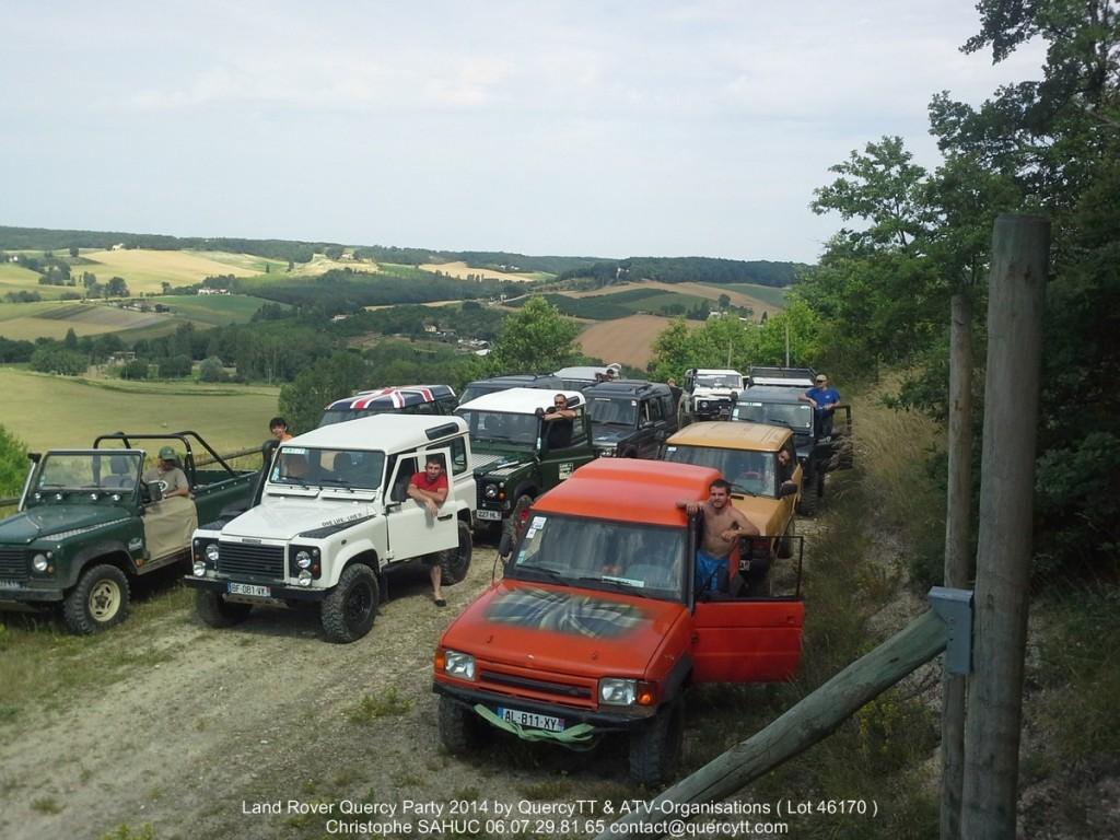 1er Land Rover Quercy Party 2014