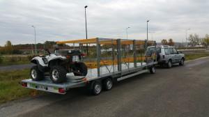 Transport de quad