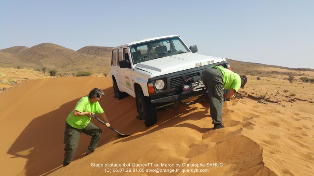 stage pilotage 4x4 Maroc
