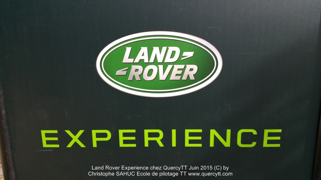 Land Rover Experience 2015