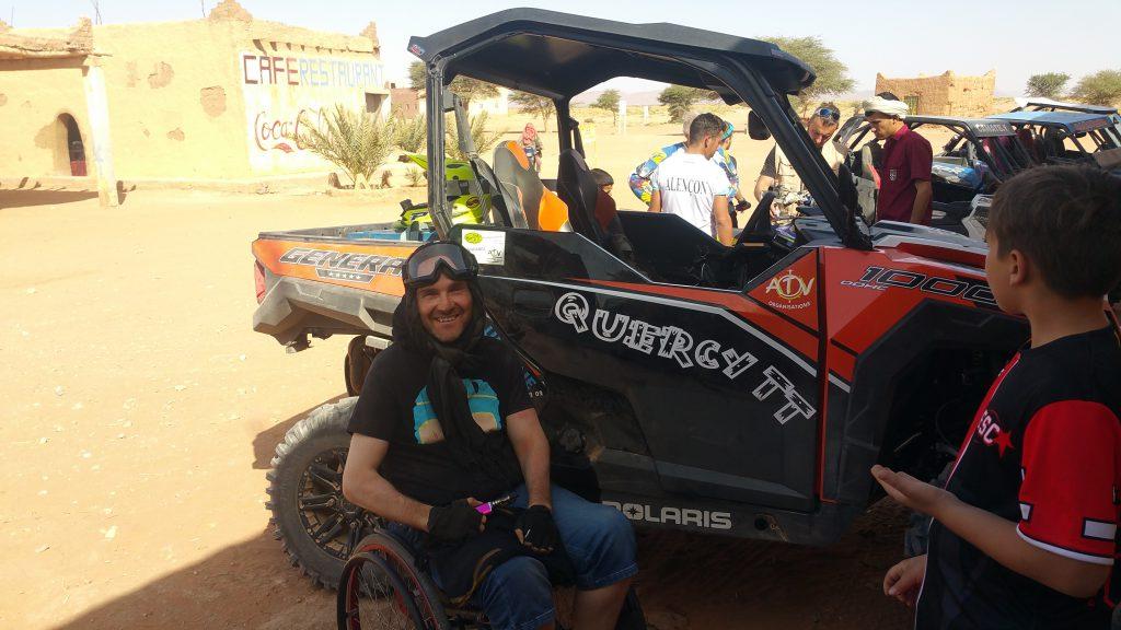 Raid Maroc pour Handicapé