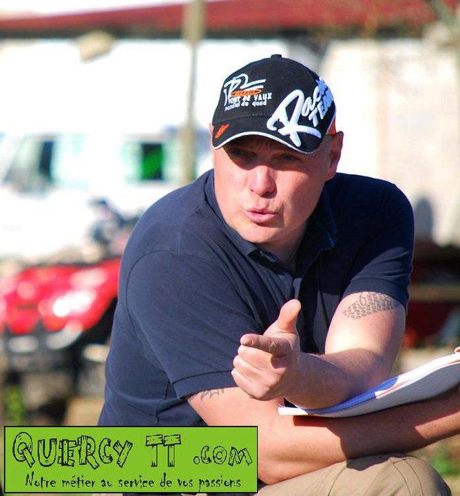 Christophe Sahuc fondateur de l'école de pilotage QuercyTT