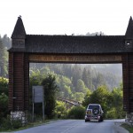 Arche d'entré de village Roumanie