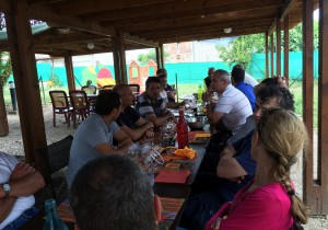 Groupe repas CE séminaire