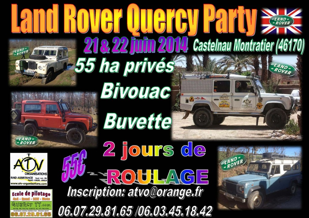 Land Rover Quercy Party 1