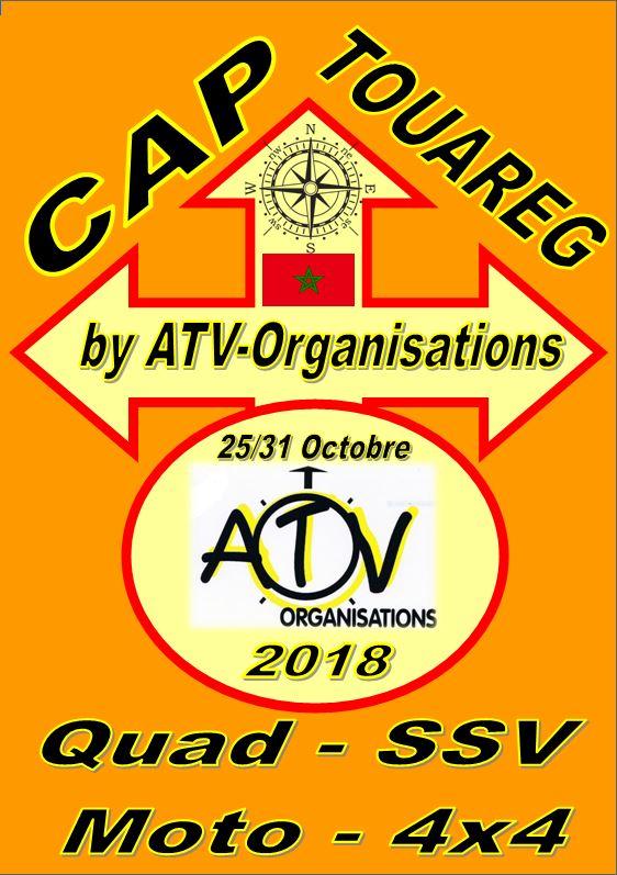 Logo Cap Touareg 2018 Officiel