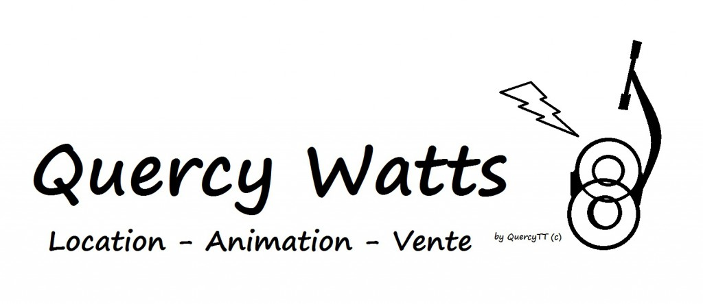 Logo Quercy Watts - location animation vente
