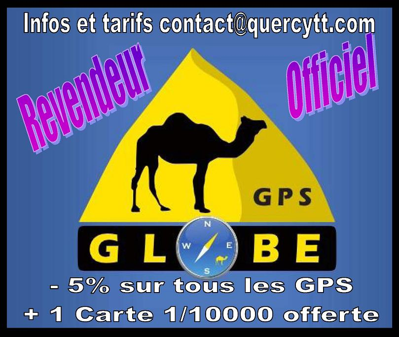 Revendeur officiel GPS Globe 4x4