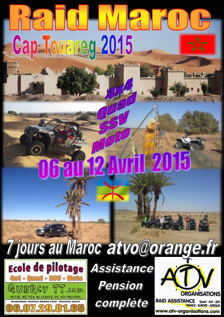 Rait Cap Touareg 2015 by ATV-Organisations