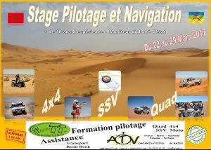 Stage pilotage et navigation du 22 au 29 Mars 2017