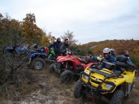 quads chez Quercy TT