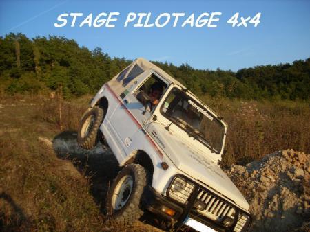 stage pilotage 4x4 Lot