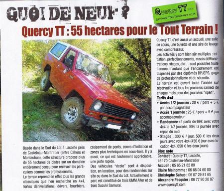 Action 4x4 n°70 Février 2010