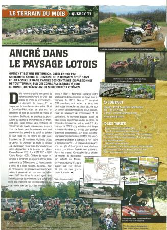le monde du quad N°98 Mars 2012