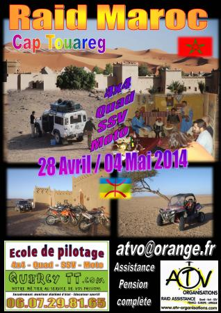 Raid Cap Tourareg 2014 by ATV-Organisations